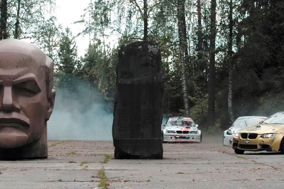 Imagem de O que fazer em uma base soviética abandonada de mísseis? Drift, é claro no tecmundo