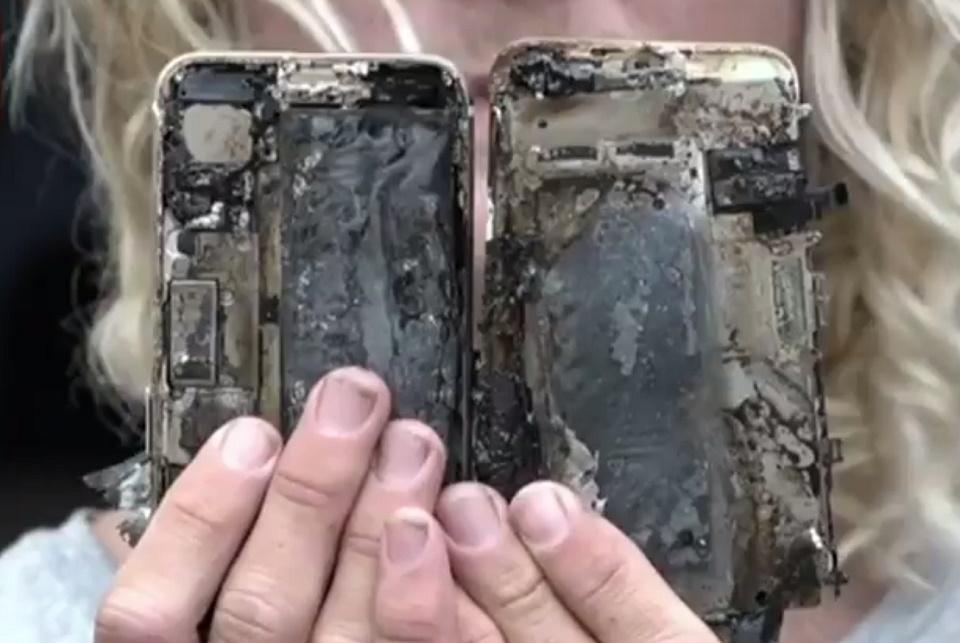 Imagem de Cosplay de Samsung? 8 Apple iPhones entram em combustão espontânea  no tecmundo