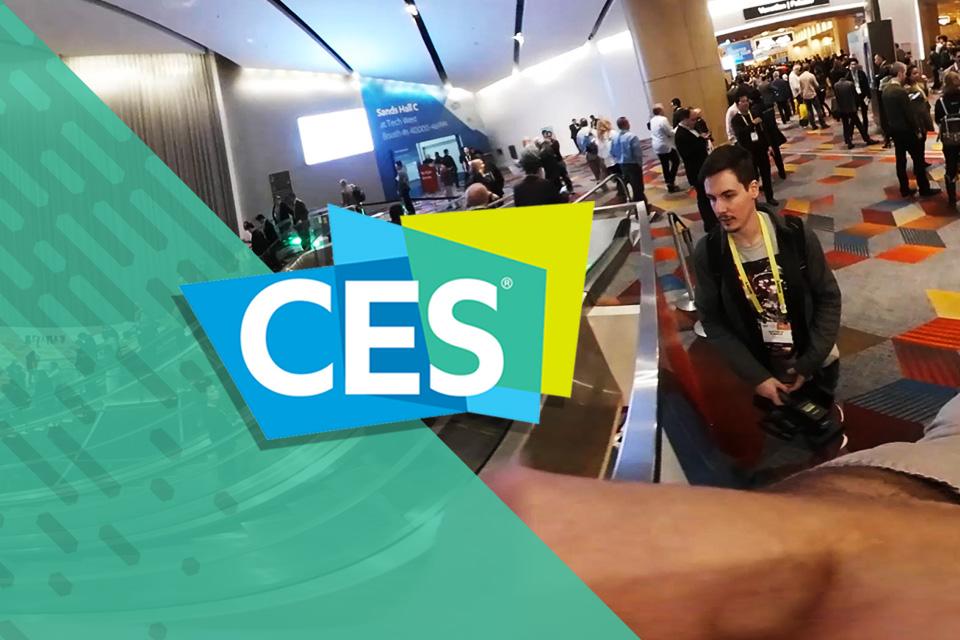Imagem de Dê um passeio em 360° na CES 2017 com a gente [vídeo experimental] no tecmundo