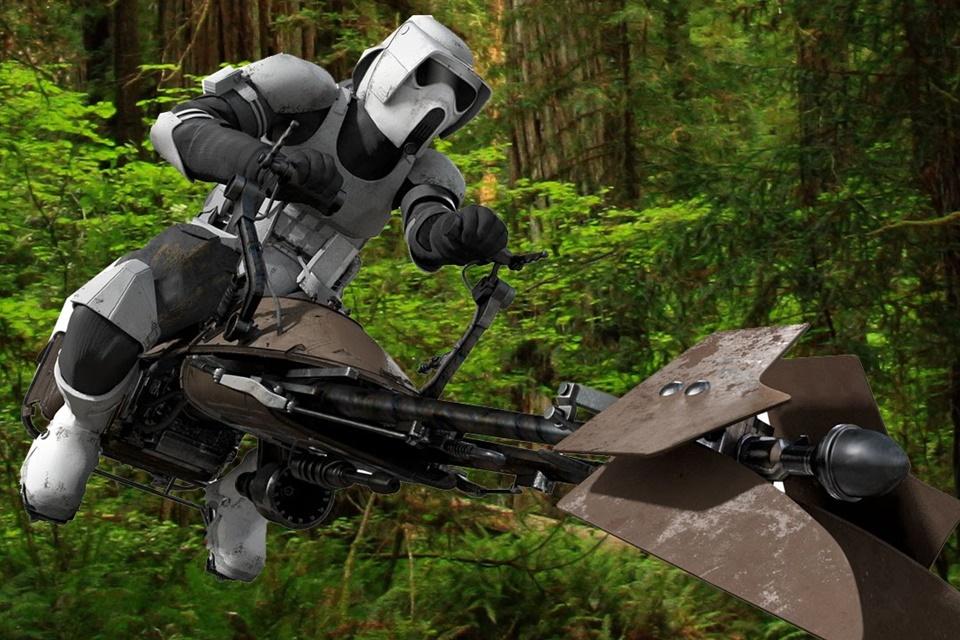 Imagem de Drone militar lembra veículo de Star Wars, mas (ainda) não carrega pessoas no tecmundo