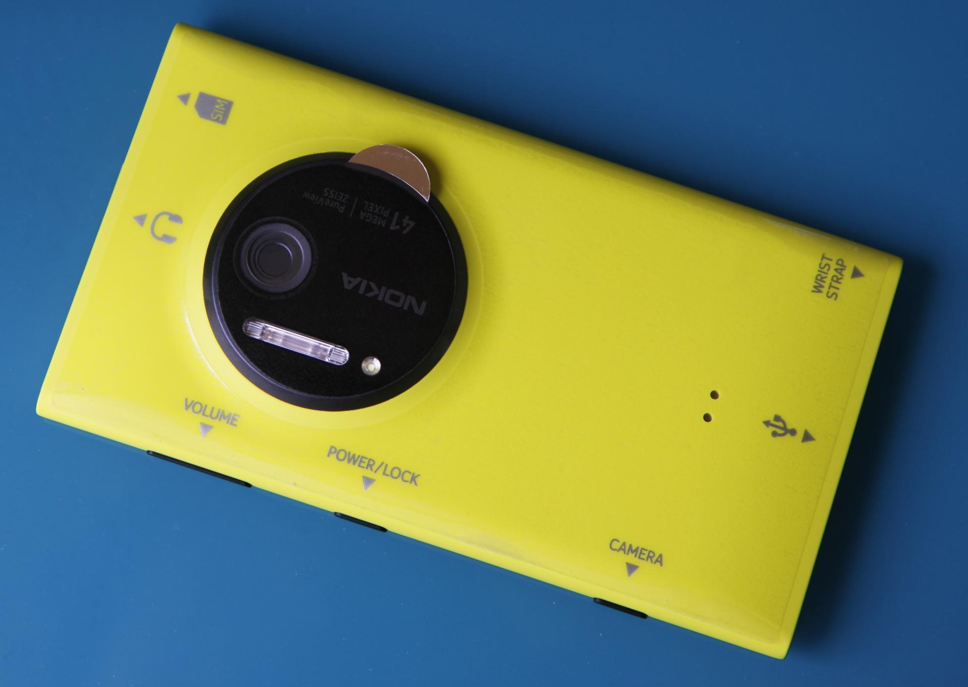 Ống kính máy ảnh cực mạnh của Lumia 1020 mới được phát hiện