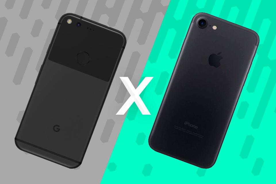Imagem de Comparativo: Google Pixel vs. Apple iPhone 7 [vídeo] no tecmundo