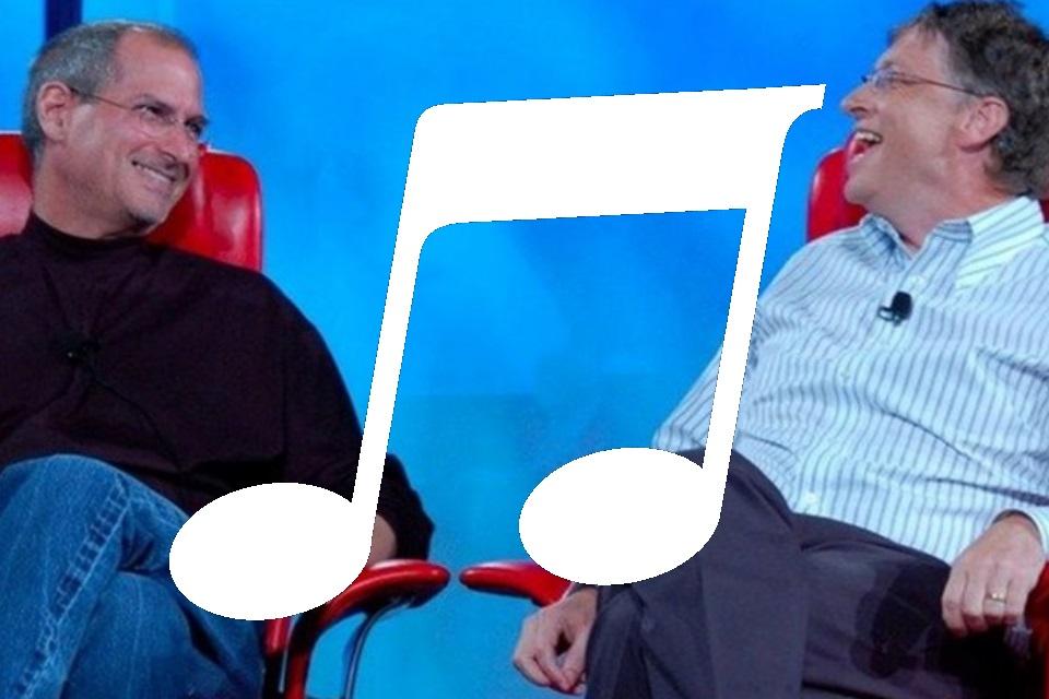 Imagem de Só para gênios: confira as músicas favoritas de Steve Jobs e Bill Gates no tecmundo