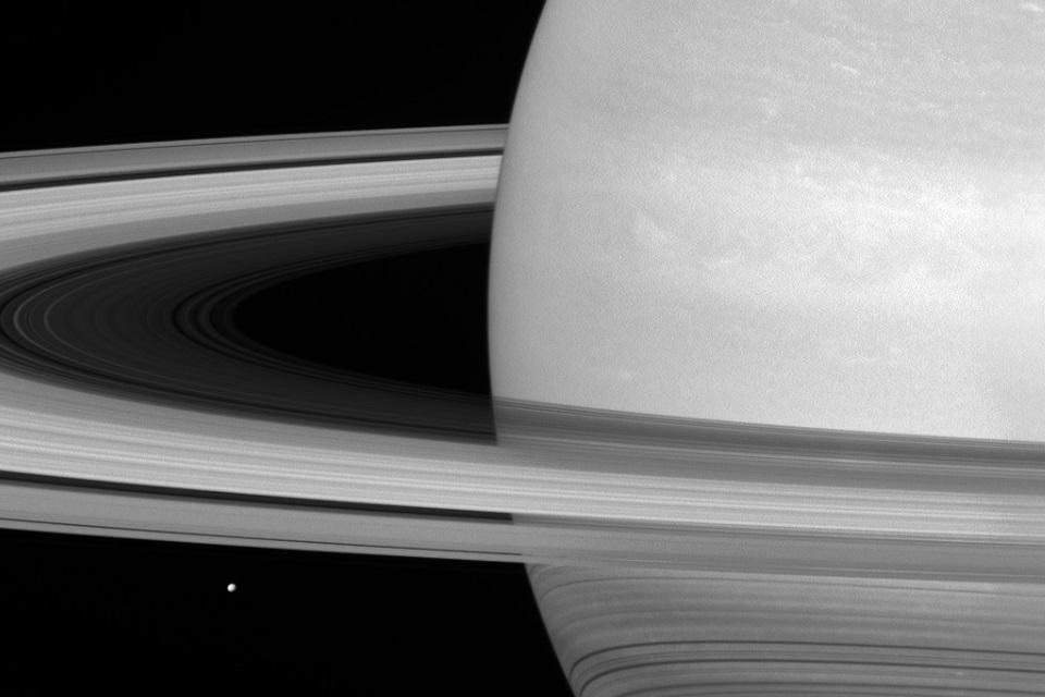 Imagem de NASA divulga imagens incrivelmente detalhadas dos Anéis de Saturno no tecmundo