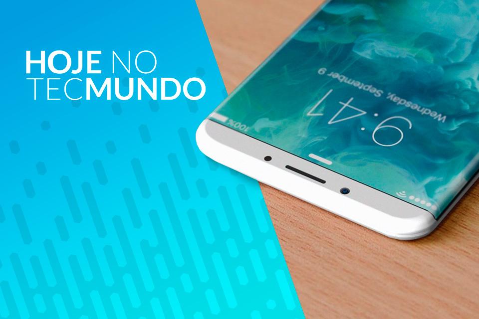 Imagem de iPhone 8 pode passar dos US$ 1 mil - Hoje no TecMundo no tecmundo