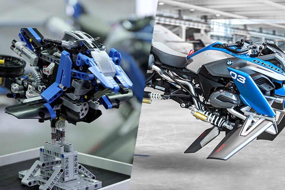 Imagem de Moto futurista de LEGO ganha versão em tamanho real feita pela BMW no tecmundo