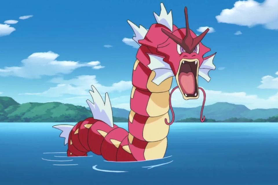 Imagem de Shiny Magikarp surge de surpresa em Pokémon GO — e ela vira um Red Gyarados no tecmundo