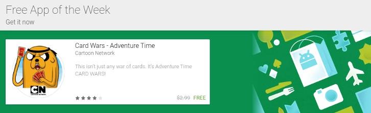A nova seção aparece assim na Google Play