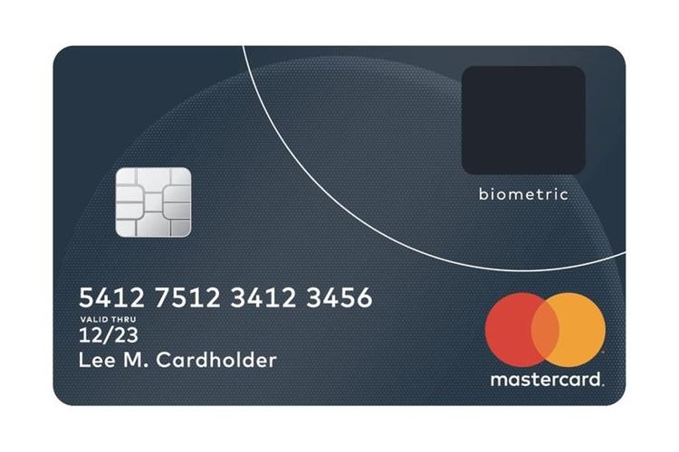 Novo cartão da Mastercard traz leitor de impressão digital embutido