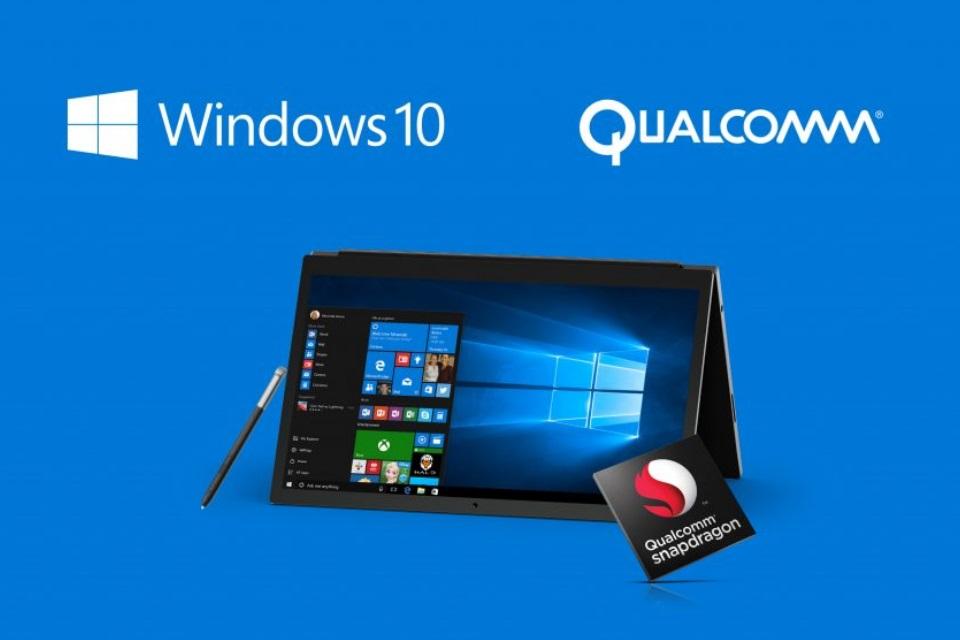 Imagem de Qualcomm diz que PCs com chip ARM e Windows 10 chegam ainda neste ano no tecmundo