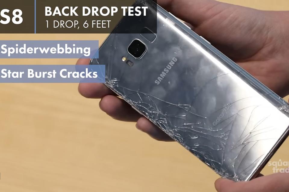 Imagem de Galaxy S8+ é o aparelho mais frágil da Samsung contra quedas, segundo teste no tecmundo