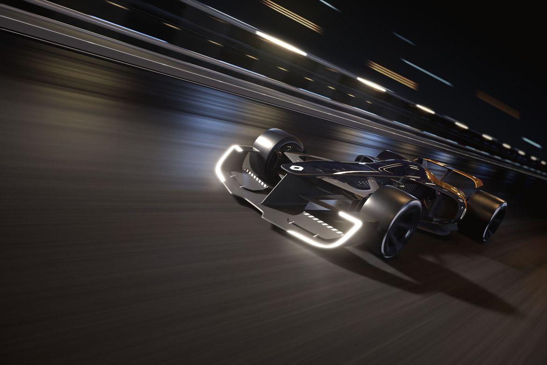 Imagem de Tecnológico e (bem) iluminado: este é o F1 do futuro, na visão da Renault no tecmundo