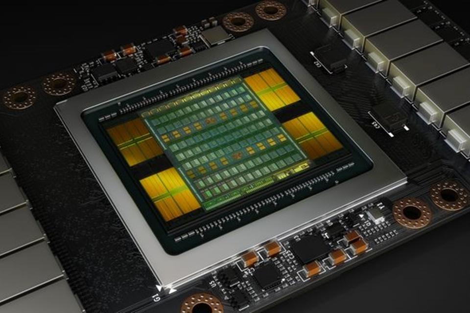 Imagem de Nova arquitetura Volta de GPUs da NVIDIA traz superprocessamento para IA no tecmundo