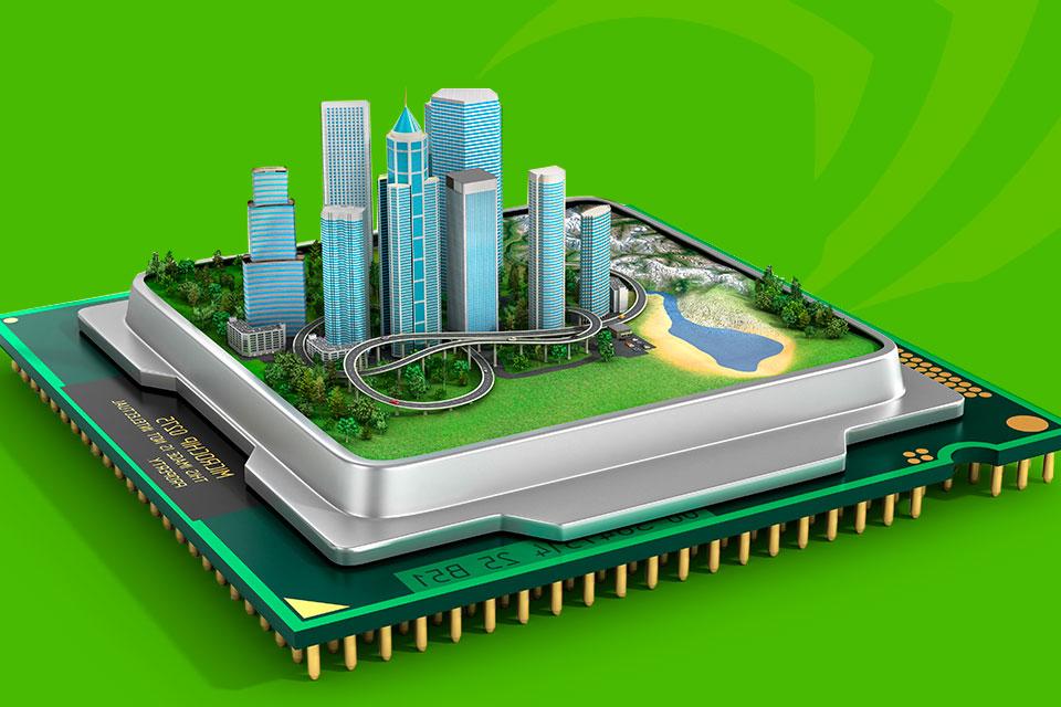 Imagem de NVIDIA cria plataforma para ajudar na criação de cidades inteligentes no tecmundo
