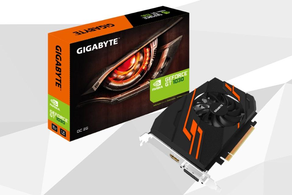 Imagem de GIGABYTE revela três placas de vídeo GeForce GT 1030 no tecmundo