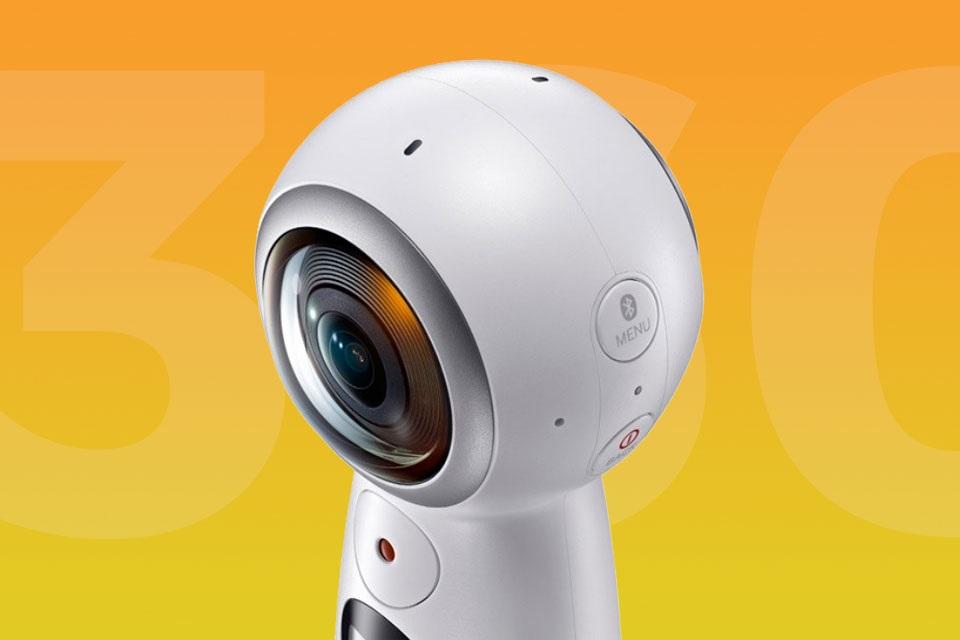 Imagem de Nova Samsung Gear 360 chega mais barata que antecessora; pelo menos nos EUA no tecmundo
