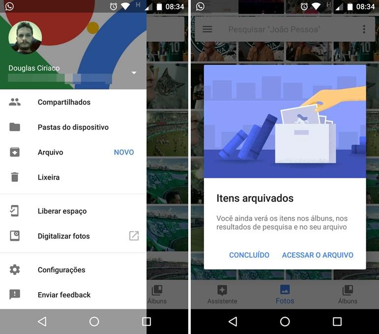 Google Photos ajuda a ocultar imagens privadas