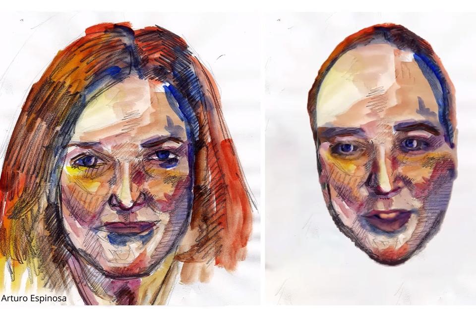 Imagem de Inteligência artificial copia textura do rosto de pinturas e estátuas no tecmundo