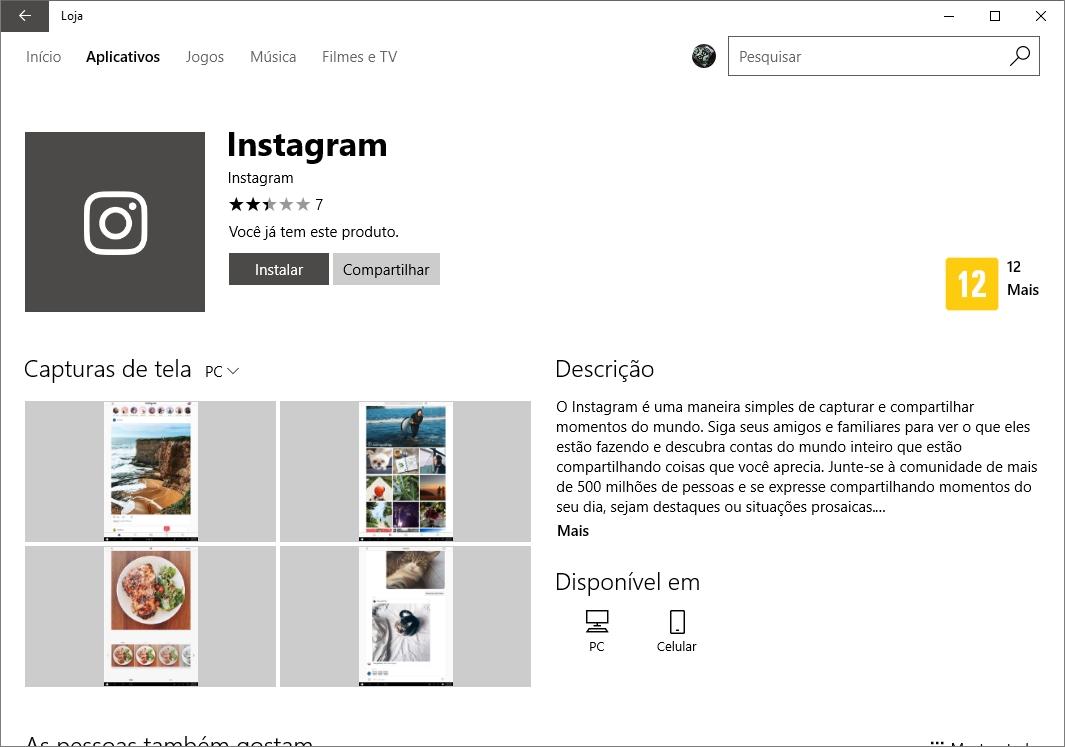 Agora dá para postar no Instagram direto do PC