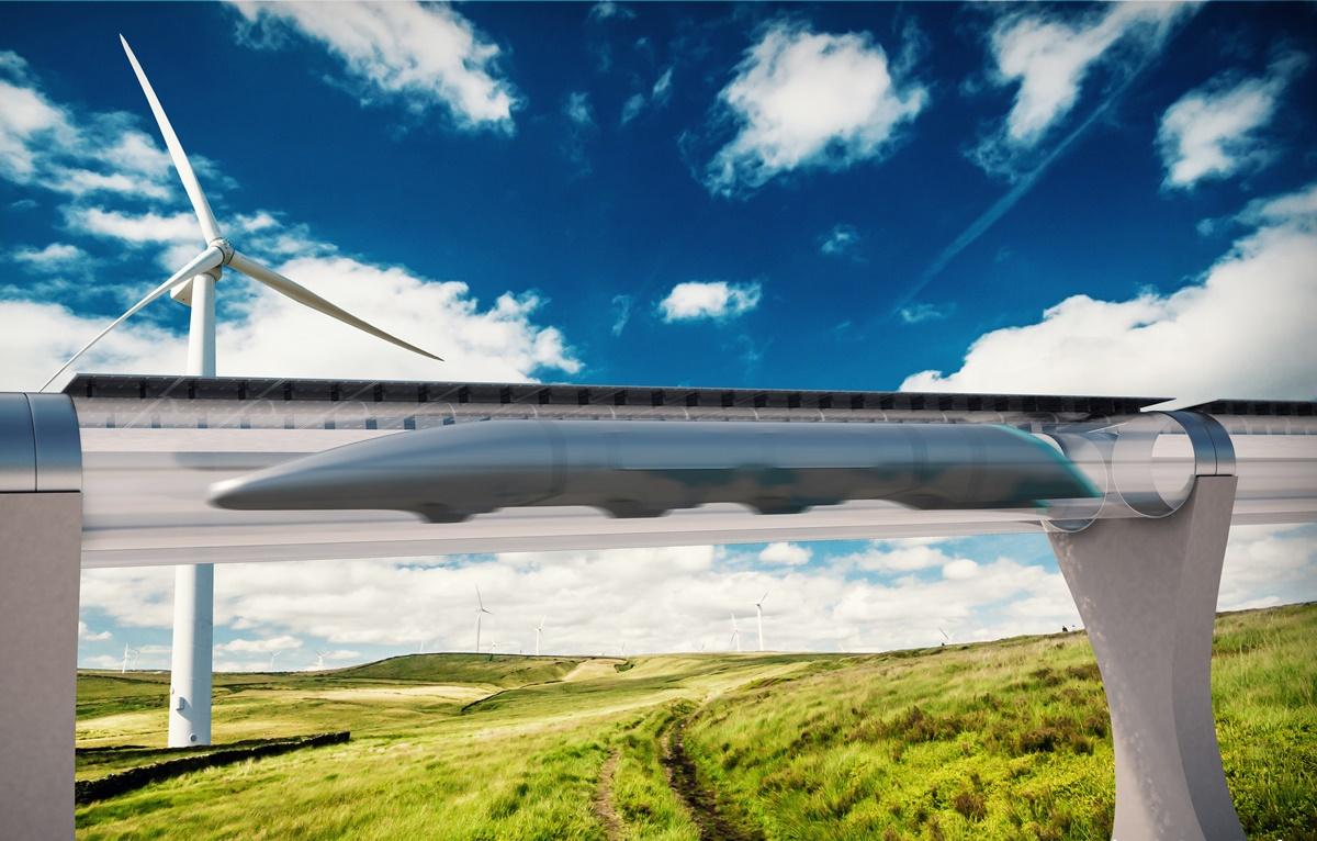 Imagem de Futuro do transporte? Hyperloop One já mapeia possíveis rotas na Europa no tecmundo