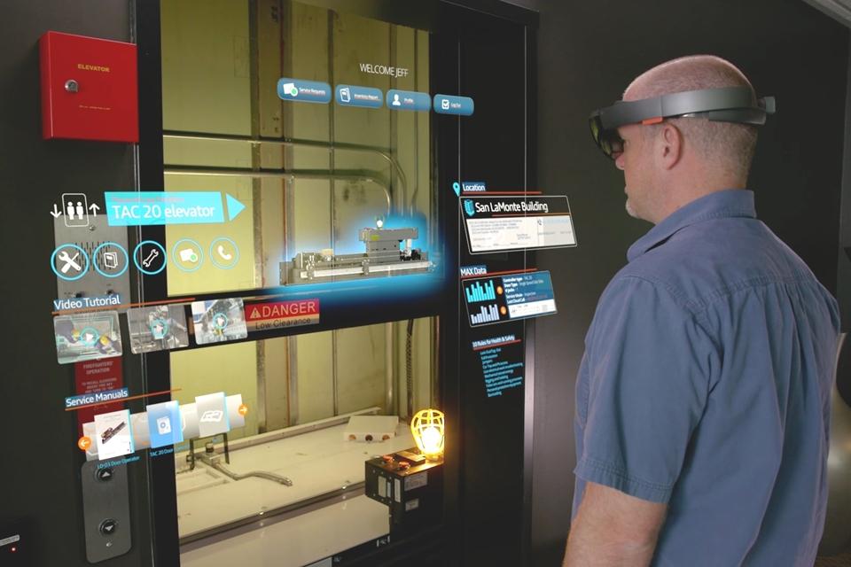 Imagem de Thyssenkrupp usa HoloLens para ajudar na manutenção de elevadores no tecmundo