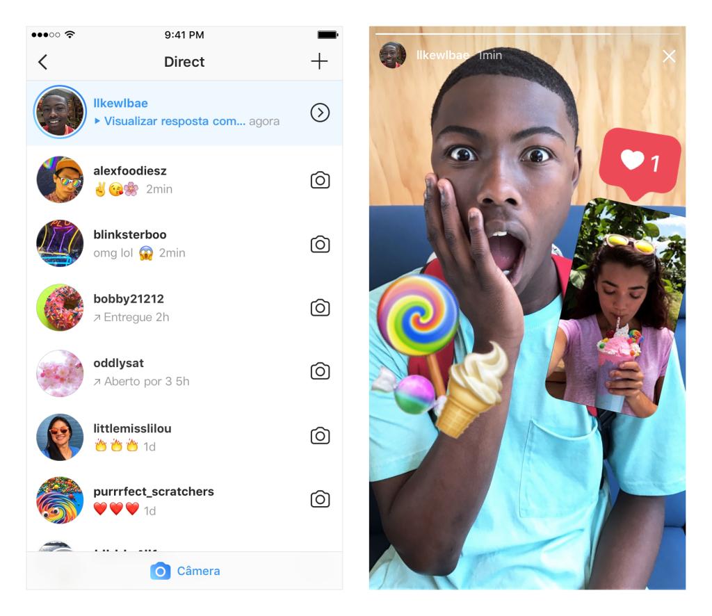 Instagram libera resposta a Stories com fotos e vídeos