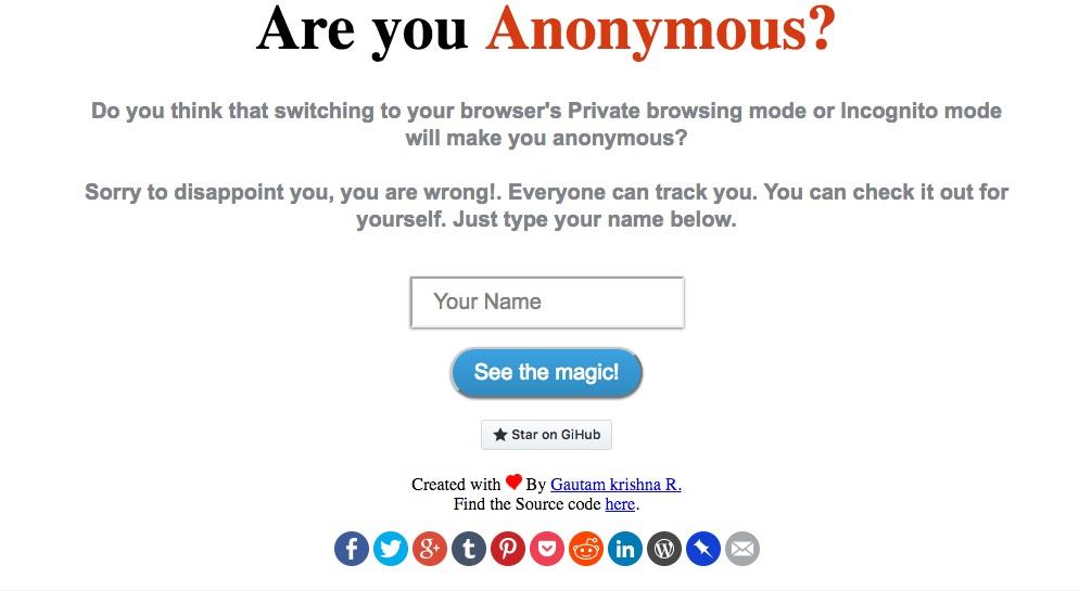 ebafe492b Site mostra como você não está anônimo na internet  faça o teste ...
