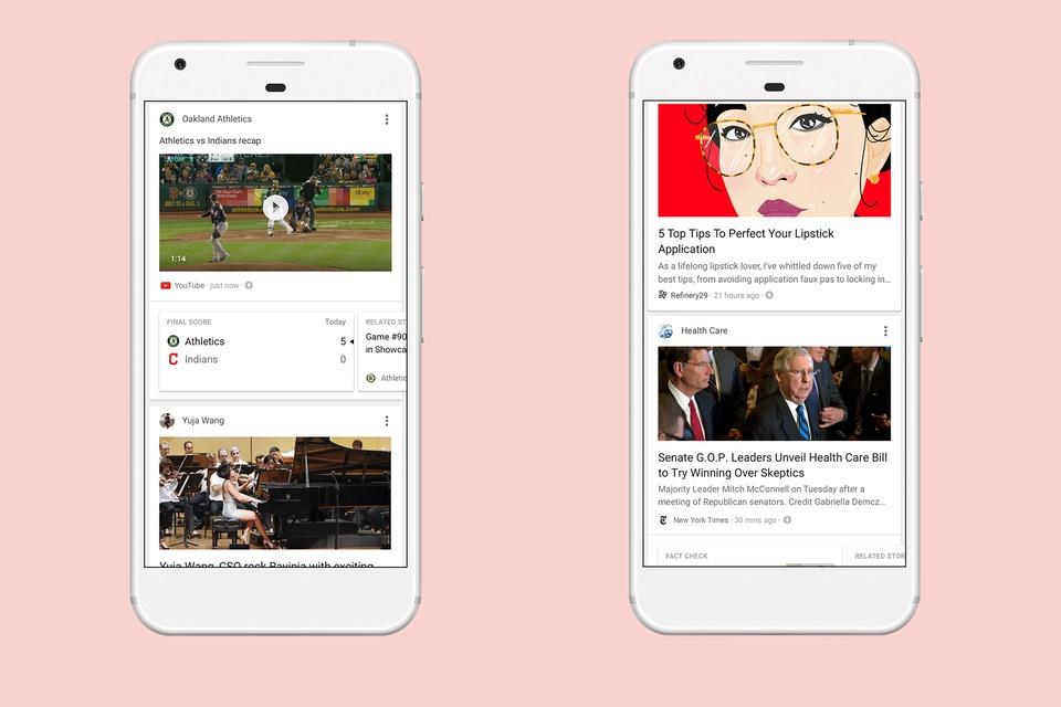Imagem de Renovado, app do Google foca no feed de novidades e aprende com o usuário no tecmundo