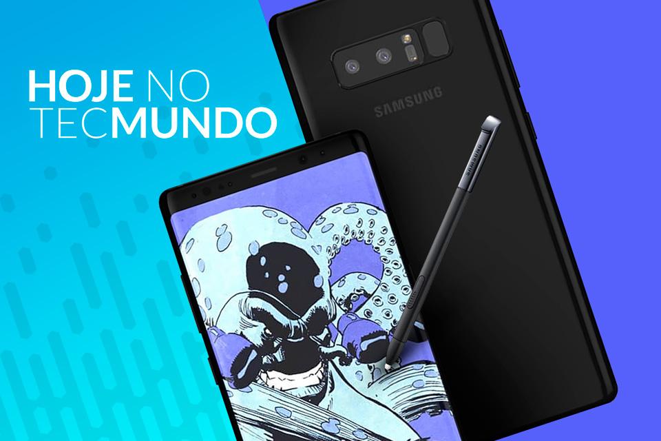 Imagem de Samsung revela data para o Galaxy Note 8 - Hoje no TecMundo no tecmundo