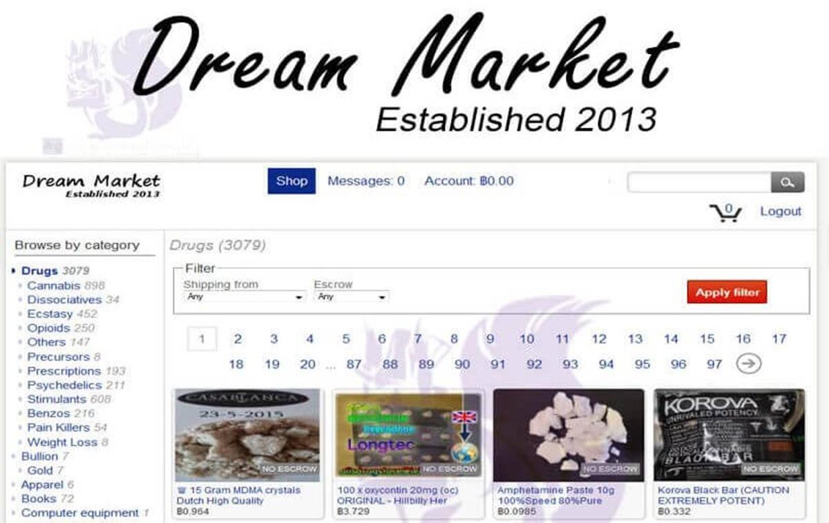 Imagem de Dream Market é a terceira loja de ilegalidades da dark web a ser tomada no tecmundo