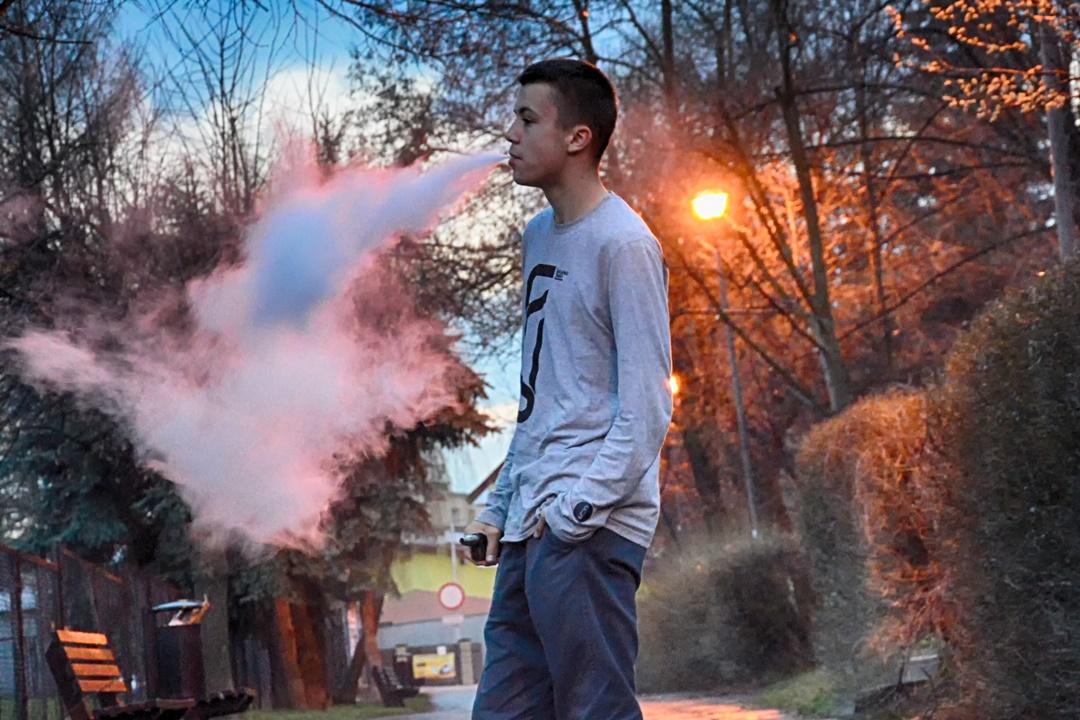 A fumagem deixada começa