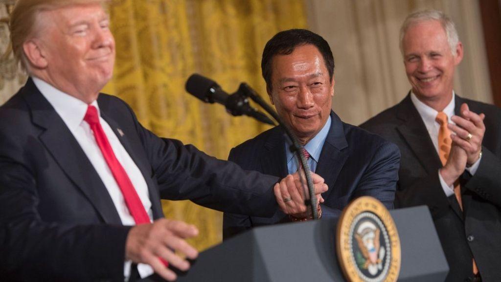 Foxconn vai abrir fábrica nos EUA