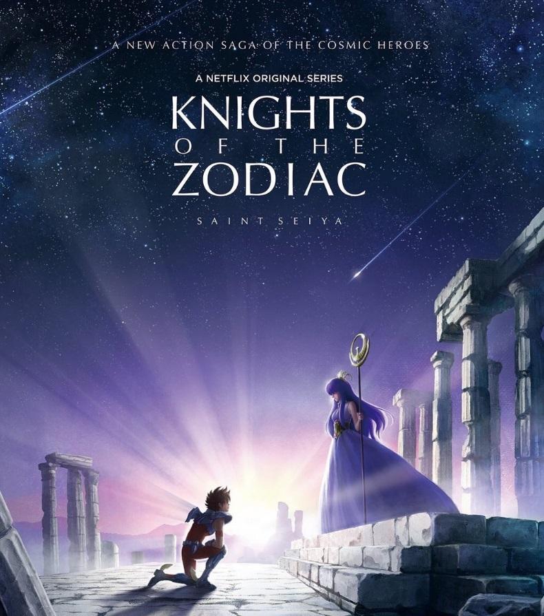 Os Cavaleiros do Zodíaco estão de volta em remake do anime pela Netflix 02093729382048