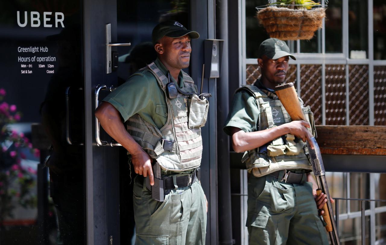 Imagem de Por conta da violência na África do Sul, Uber contrata empresa de segurança no tecmundo