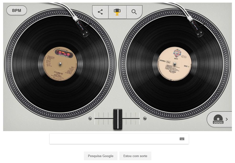 Google homenageia nascimento do hip hop e deixa você brincar de DJ