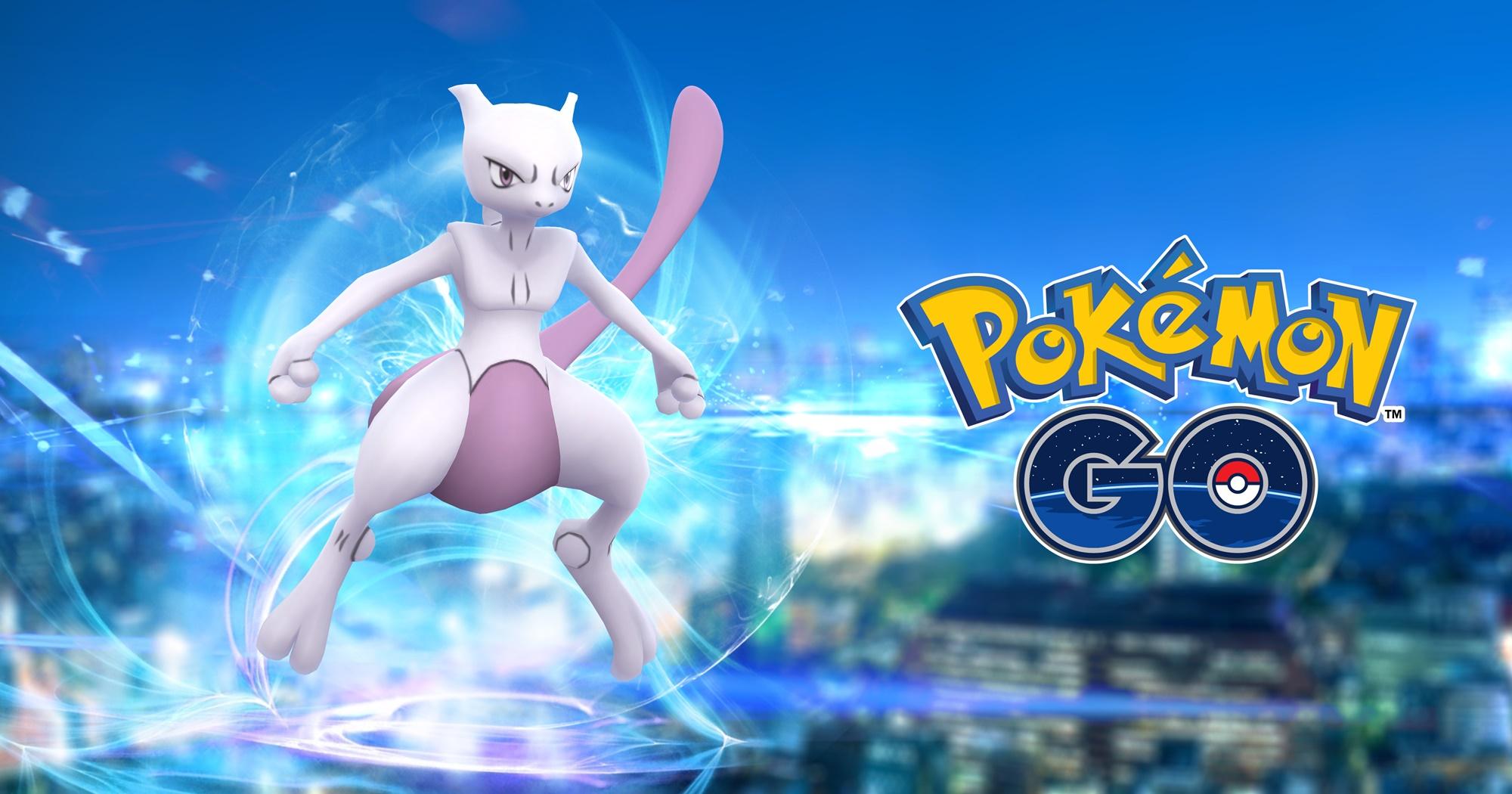 Pokemon Go - Mewtwo aparece em Pokémon GO no Japão