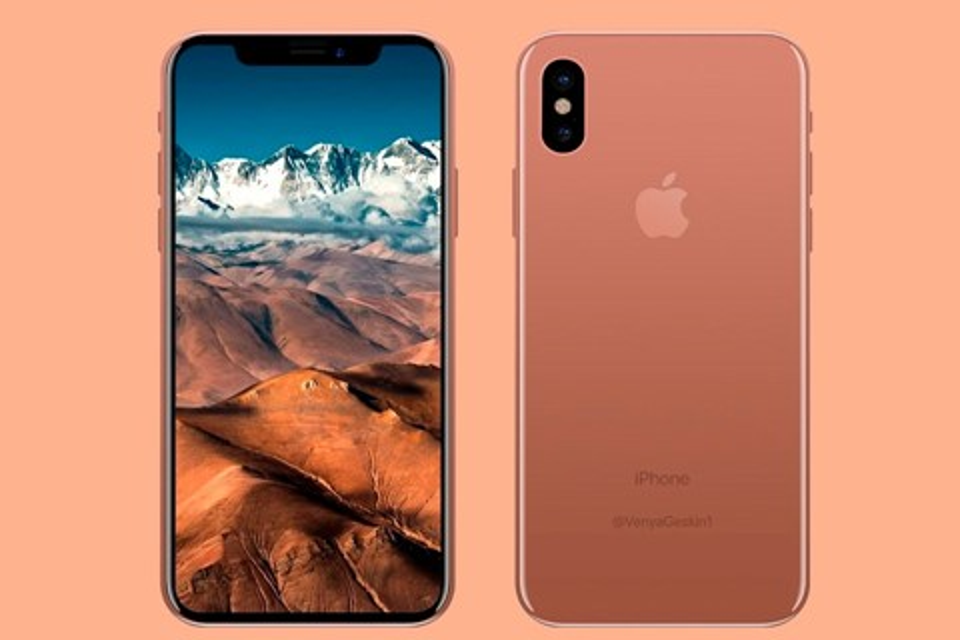 "Imagem de iPhone 8 cor de cobre pode ser chamado de ""Blush Gold"" segundo fonte no tecmundo"