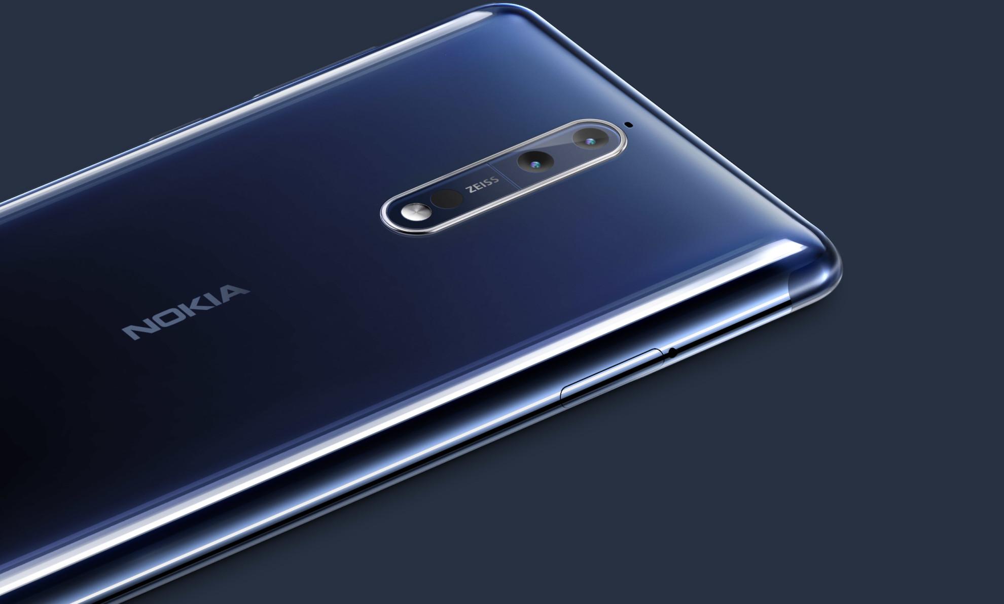 Nokia 8 é oficialmente apresentado