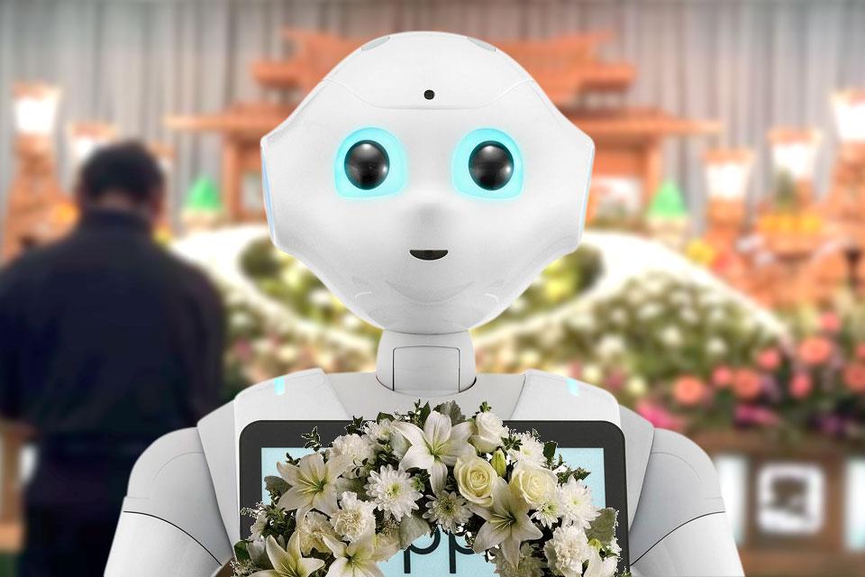 Imagem de Robô Pepper vai ser programado para rezar em velórios no Japão no tecmundo