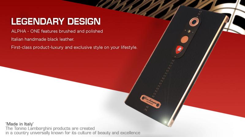 Lamborghini lança celular de luxo por R$ 8,5 mil
