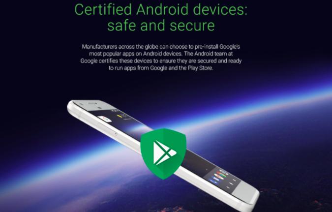 Logo Google Play Protect é criado para identificar smartphones Android certificados