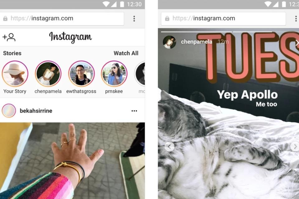 Instagram libera stories para versão web da rede social