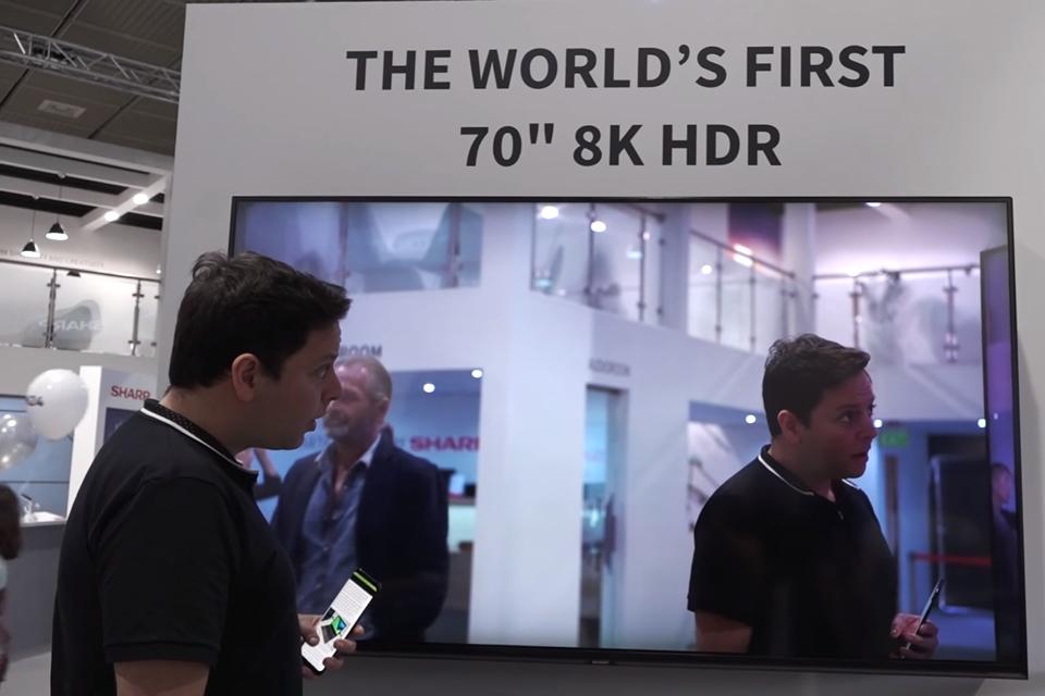 Imagem de IFA 2017: Sharp começará a vender TV 8K por um preço baratinho (ou não) no tecmundo