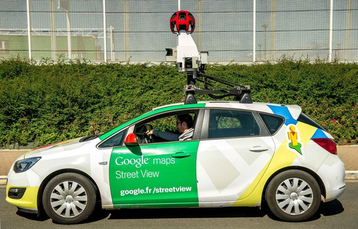 Carro do Google Street View