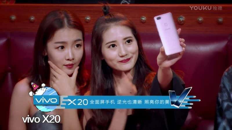 Selfie com câmera do Vivo X20