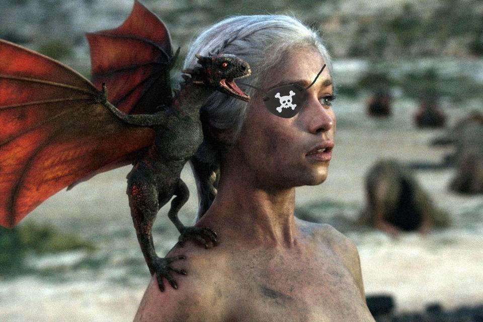 """Imagem de Temporada 7 de """"Game of Thrones"""" foi pirateada mais de um bilhão de vezes no tecmundo"""