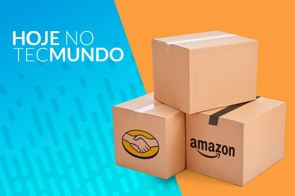 Imagem de Mercado Livre e Amazon querem expansão no Brasil - Hoje no TecMundo no tecmundo
