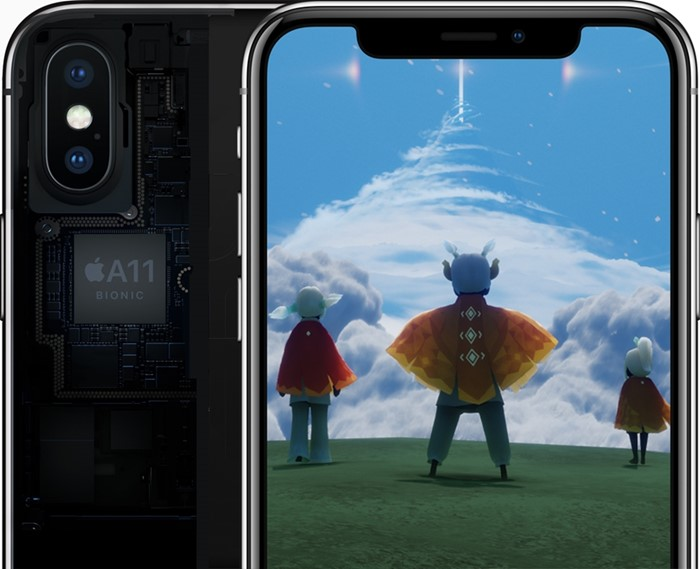 iPhone X bionic chip