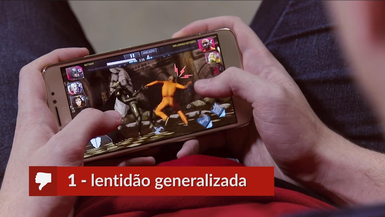 Jogando no Moto E4 Plus
