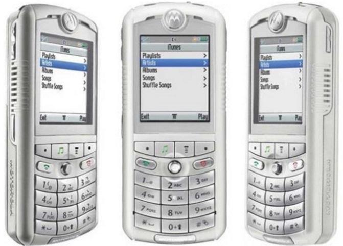 Vários celulares diferentes
